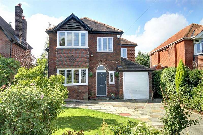 4 Bedrooms Detached House for sale in Crossfield Road, Hale, Cheshire