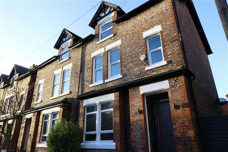 4 Bedrooms Semi Detached House for sale in Napier Road, Chorlton, Manchester, M21