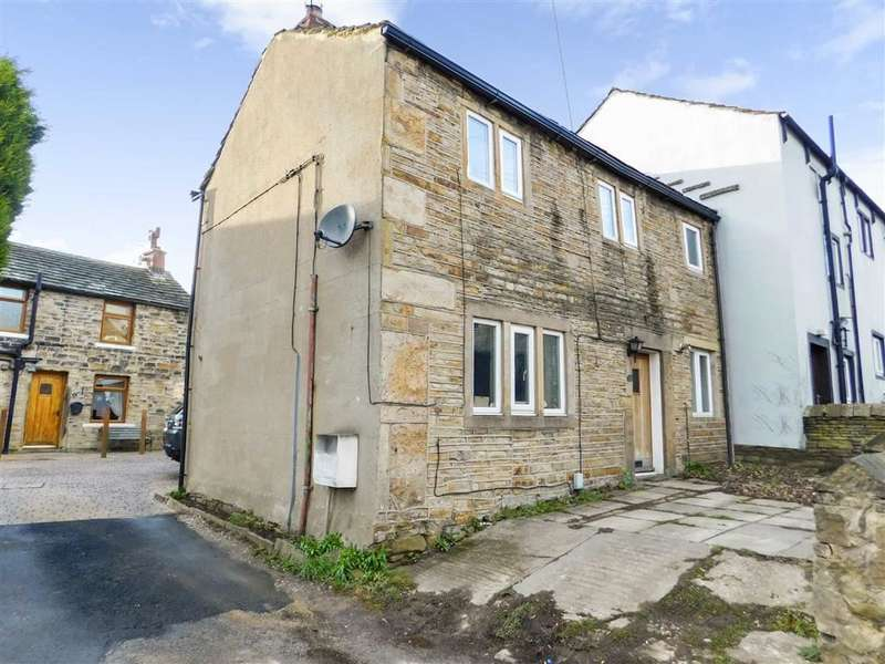 2 Bedrooms End Of Terrace House for sale in Shop Lane, Kirkheaton, Huddersfield