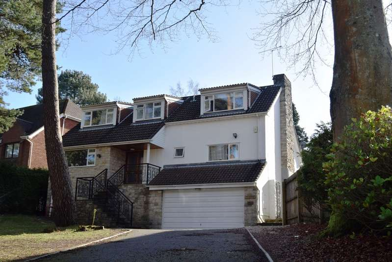 4 Bedrooms Detached House for sale in Ravine Road, Poole BH13