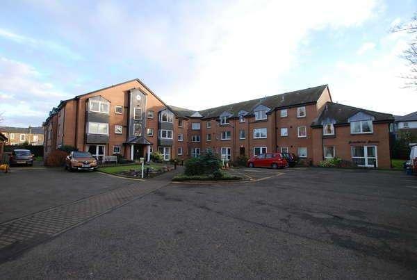 1 Bedroom Retirement Property for sale in Flat 49, Homebriar House Barns Park, Ayr, KA7 2BA