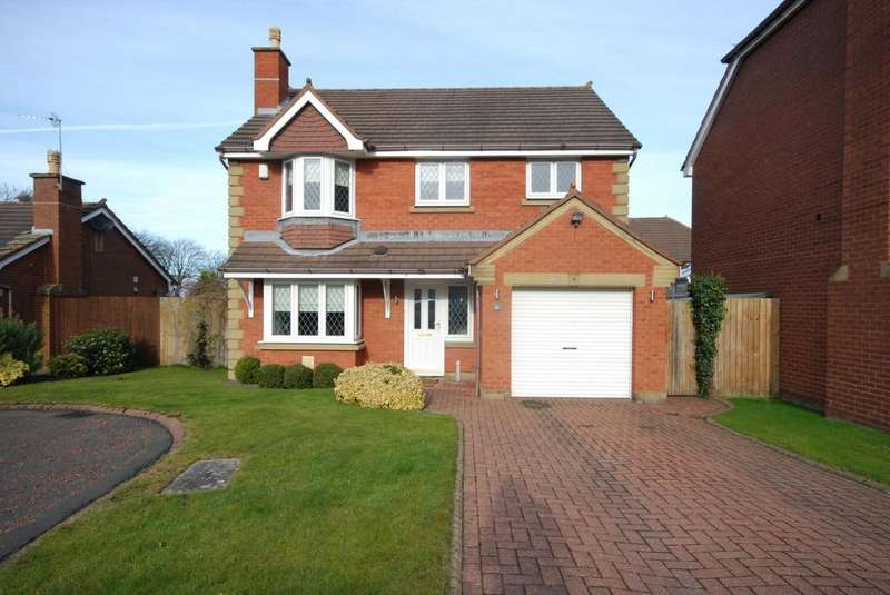 4 Bedrooms Detached House for sale in Heathfield, Greystoke Manor