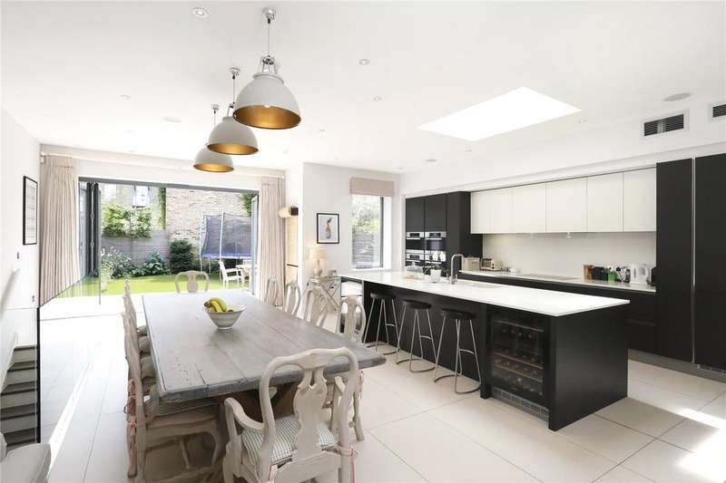 5 Bedrooms Semi Detached House for sale in Old Park Avenue, Between The Commons, London, SW12