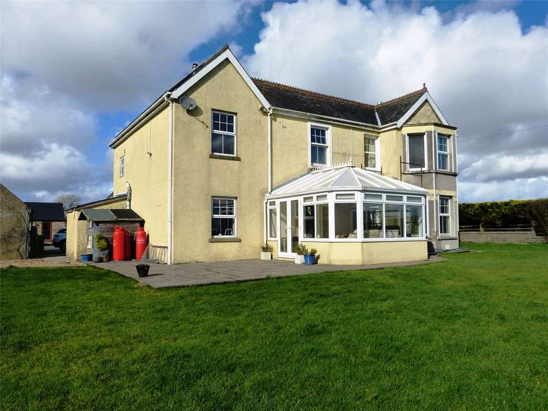 4 Bedrooms Detached House for sale in Bronyglyn, Llandissilio, Clynderwen, Pembrokeshire