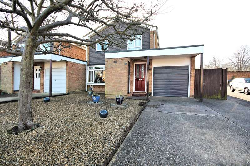 3 Bedrooms Link Detached House for sale in Wendron Close, Goldsworth Park, Woking, GU21