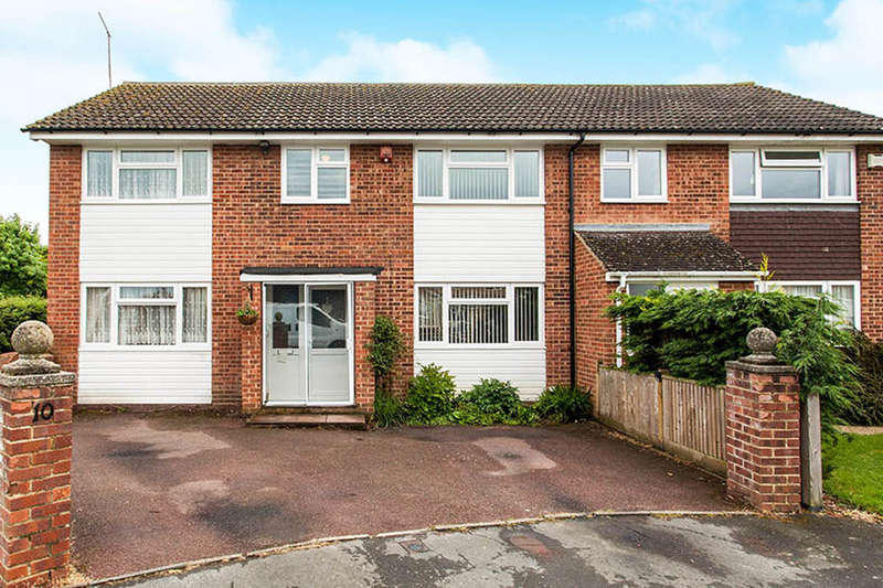 4 Bedrooms Semi Detached House for sale in Keyworth Close, Paddock Wood, TN12