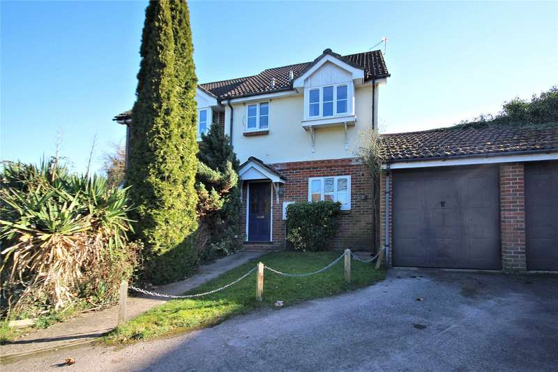 3 Bedrooms Semi Detached House for sale in Scotts Court, Stockers Lane, Woking, Surrey, GU22