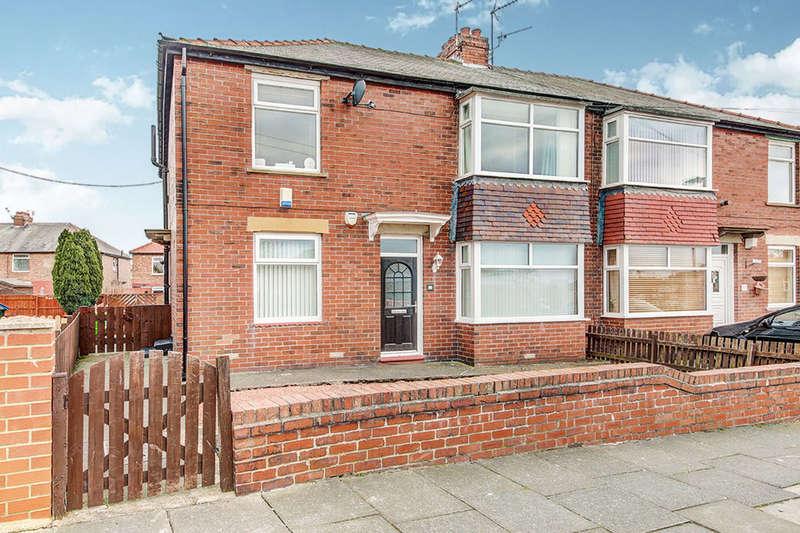 2 Bedrooms Flat for sale in Biddleston Crescent, North Shields, NE29