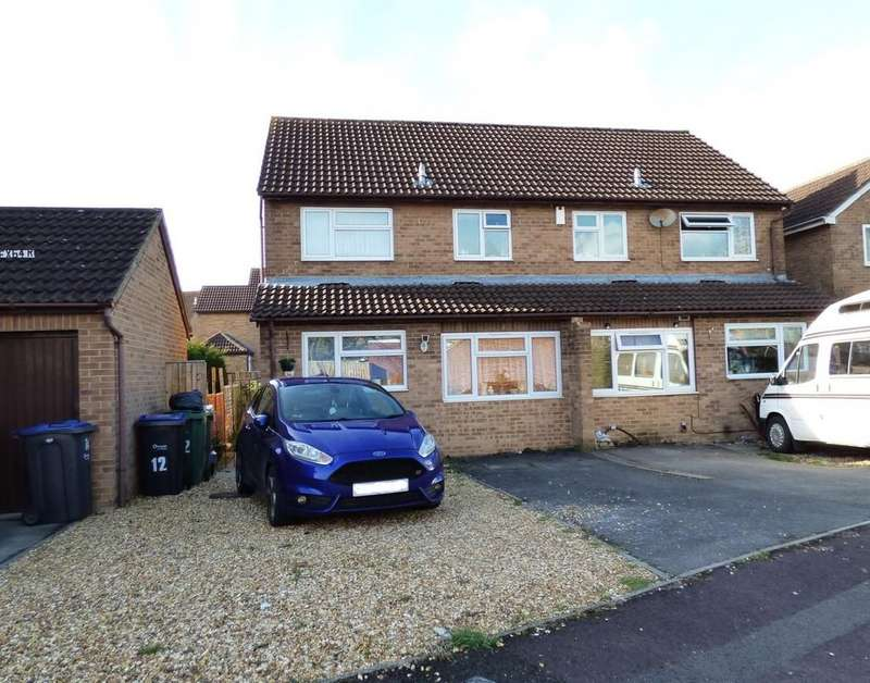 3 Bedrooms Semi Detached House for sale in Gloucester Walk, Westbury