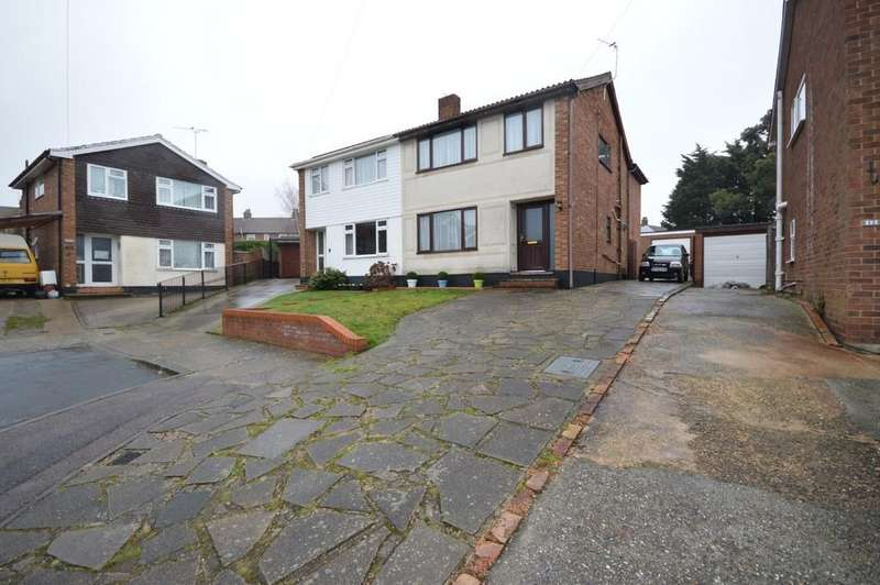 4 Bedrooms Semi Detached House for sale in Grenfell Close, Colchester