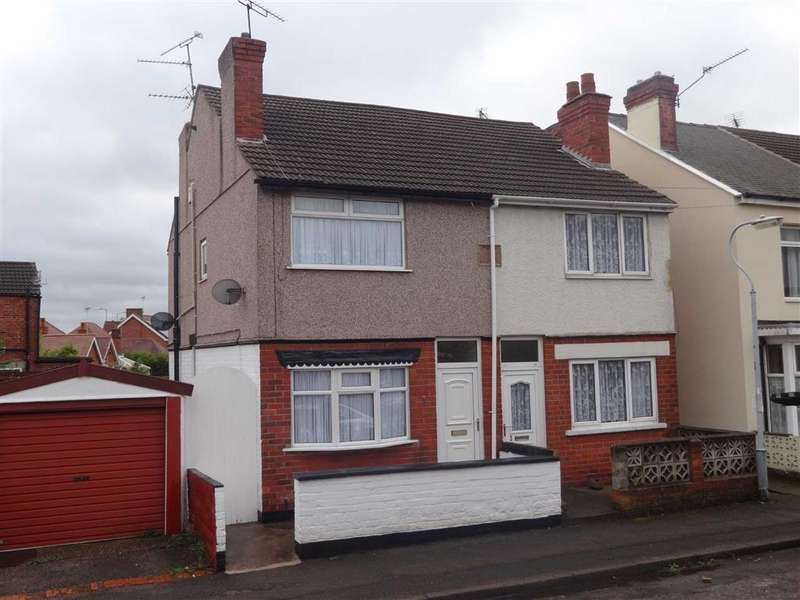 2 Bedrooms Semi Detached House for sale in Leyton Avenue, Sutton In Ashfield, Notts, NG17