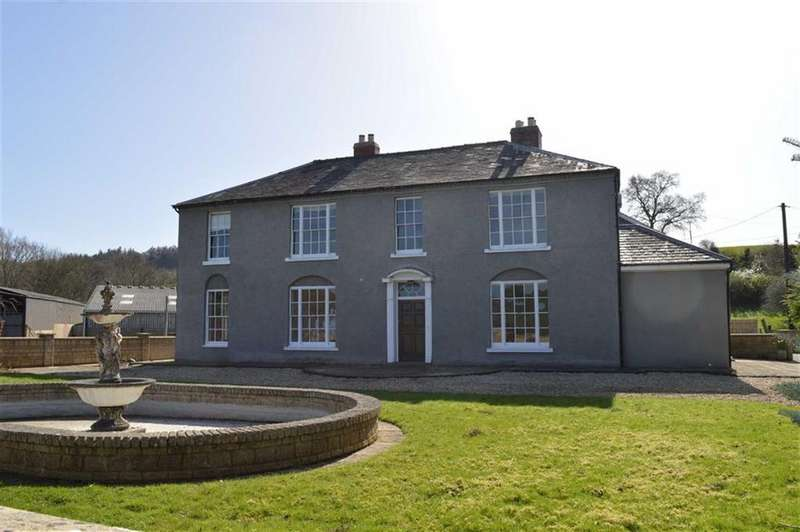 4 Bedrooms Farm House Character Property for rent in Glandulas Farmhouse, Llanidloes Road, Llanidloes Road, Newtown, Powys, SY16