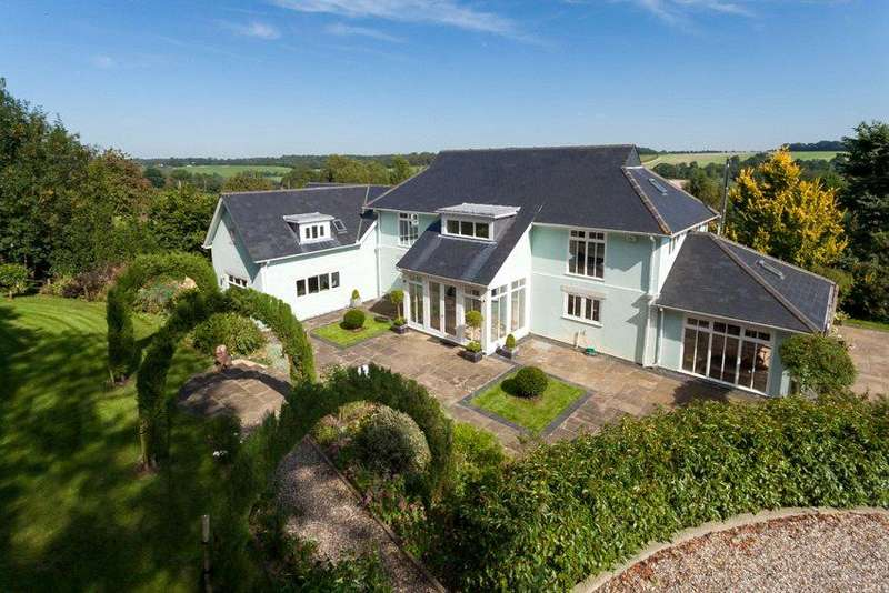 5 Bedrooms Detached House for sale in Shelvin Lane, Wootton, Canterbury, Kent