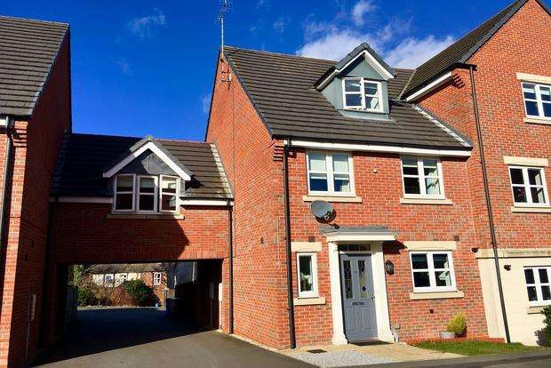 4 Bedrooms Semi Detached House for sale in Bessemer Drive, Mansfield, NG18