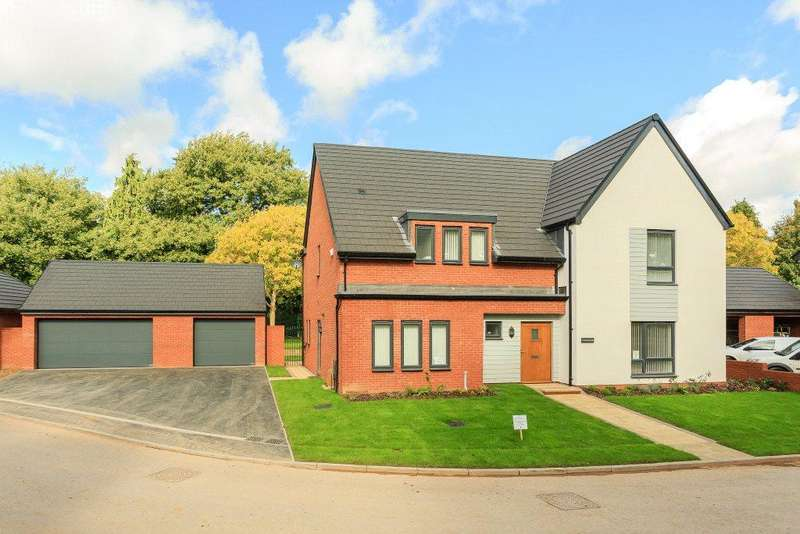 4 Bedrooms Detached House for sale in Ark Royal Avenue, Exeter, Devon