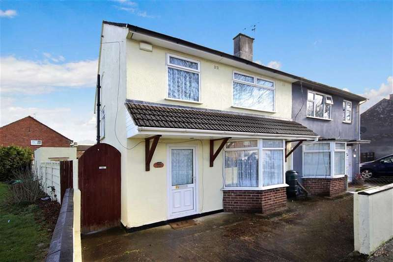 3 Bedrooms Semi Detached House for sale in Pewsham Road, Penhill, Swindon
