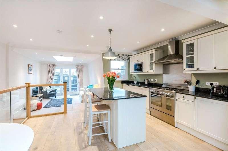 3 Bedrooms Maisonette Flat for sale in Mirabel Road, Fulham Broadway, Fulham, London, SW6