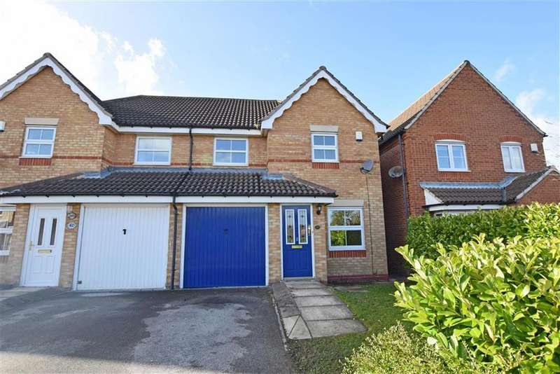 3 Bedrooms Semi Detached House for sale in Brettas Park, Monk Bretton, Barnsley, S71