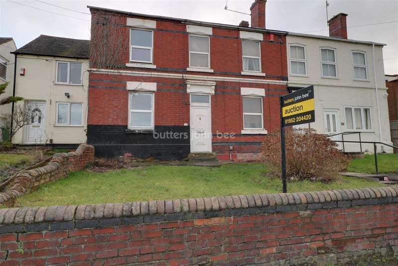2 Bedrooms Semi Detached House for sale in New Road, Wrockwardine Wood
