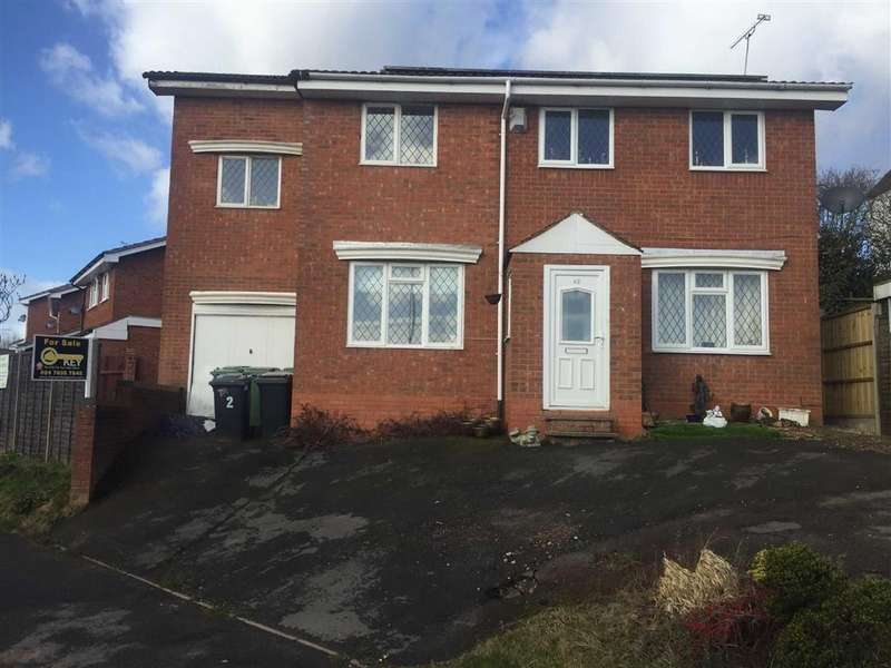 6 Bedrooms Detached House for sale in Chesterton Drive, Galley Common, Nuneaton, Warwickshire, CV10