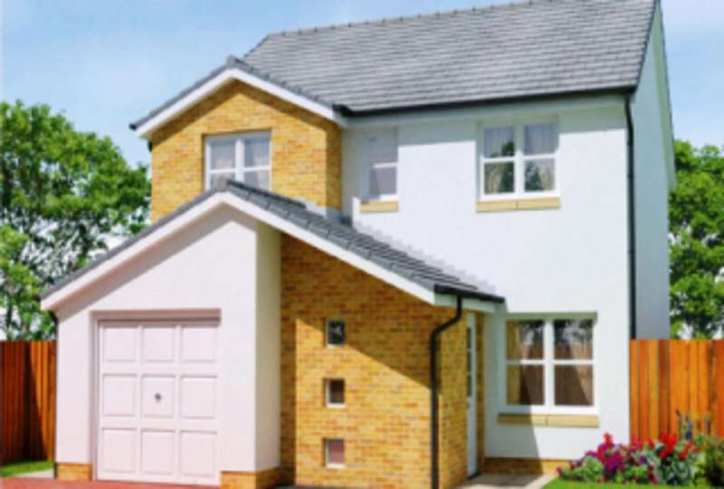 4 Bedrooms Detached House for sale in Calder Grove, Caldercruix, North Lanarkshire, ML6