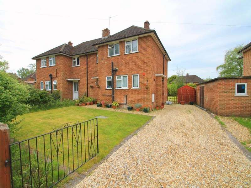3 Bedrooms Semi Detached House for rent in Ryebeck Road, Church Crookham, Fleet, Hampshire