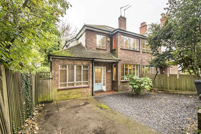 4 Bedrooms Semi Detached House for sale in Fox Hill, London, SE19