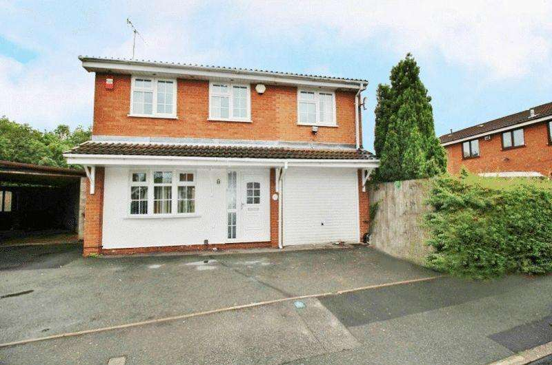 4 Bedrooms Detached House for rent in Sheaves Close, Sedgemoor Park, Bilston