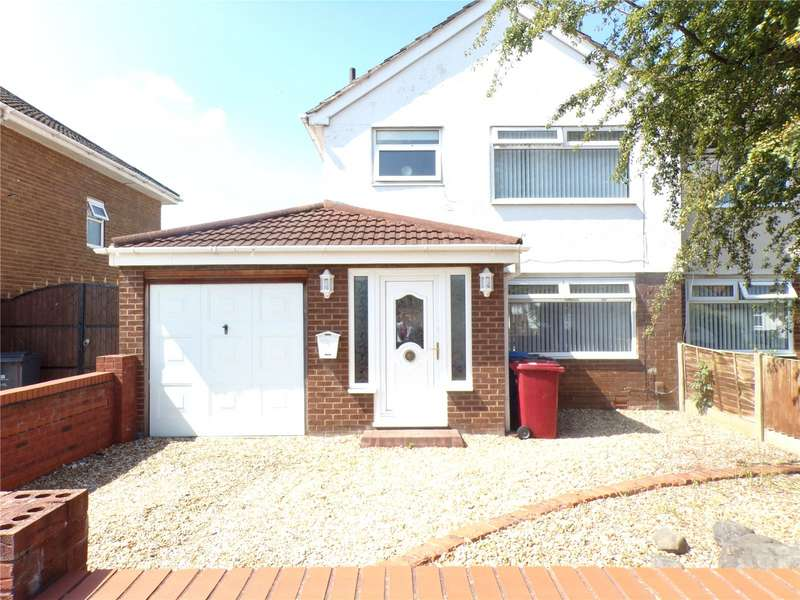 3 Bedrooms Semi Detached House for sale in New Hutte Lane, Halewood, Liverpool, L26