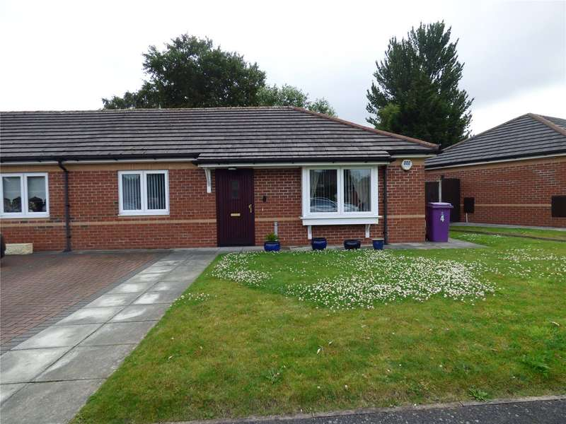 2 Bedrooms Semi Detached Bungalow for sale in Gala Close, Liverpool, Merseyside, L14
