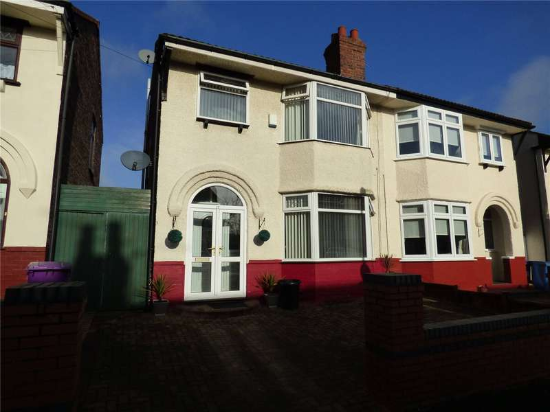 4 Bedrooms Semi Detached House for sale in Alvanley Road, West Derby, Liverpool, Merseyside, L12