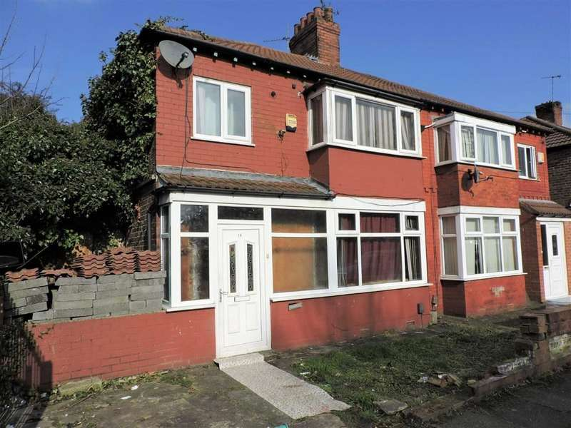 3 Bedrooms Semi Detached House for sale in Slade Hall Road, Manchester