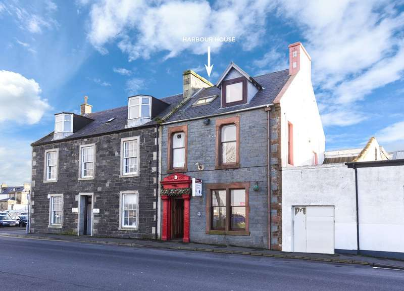 5 Bedrooms End Of Terrace House for sale in Harbour House, Market Street, Stranraer, Dumfries and Galloway, DG9