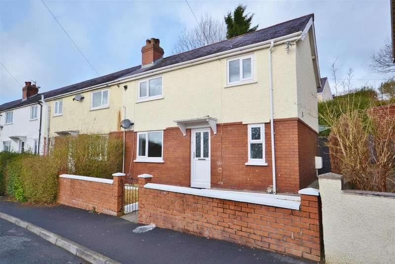 3 Bedrooms End Of Terrace House for sale in Brynhaul Street, Carmarthen