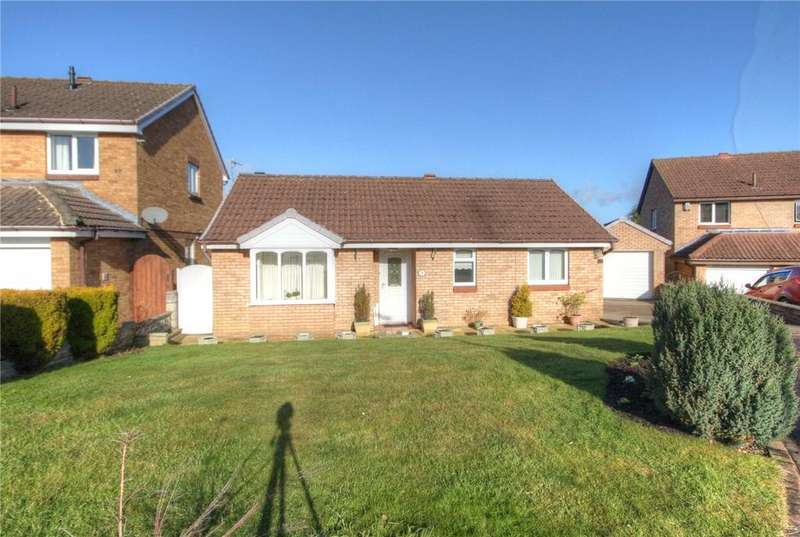 2 Bedrooms Detached Bungalow for sale in Easby Close, Bishop Auckland, County Durham, DL14