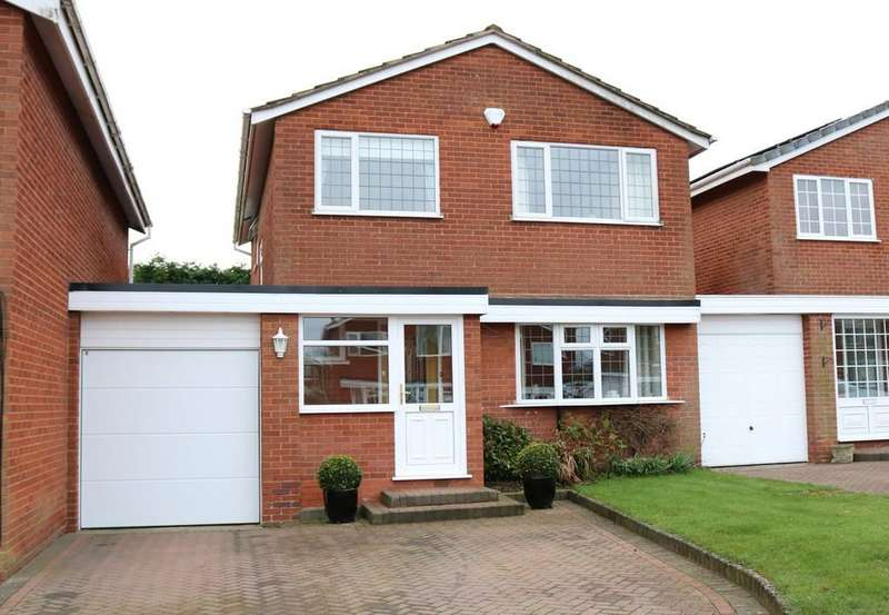 4 Bedrooms Link Detached House for sale in Woodrow Crescent, Knowle