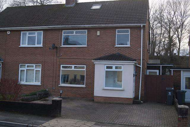 4 Bedrooms Semi Detached House for sale in Crystal Glen, Heath, Heath, Cardiff CF14