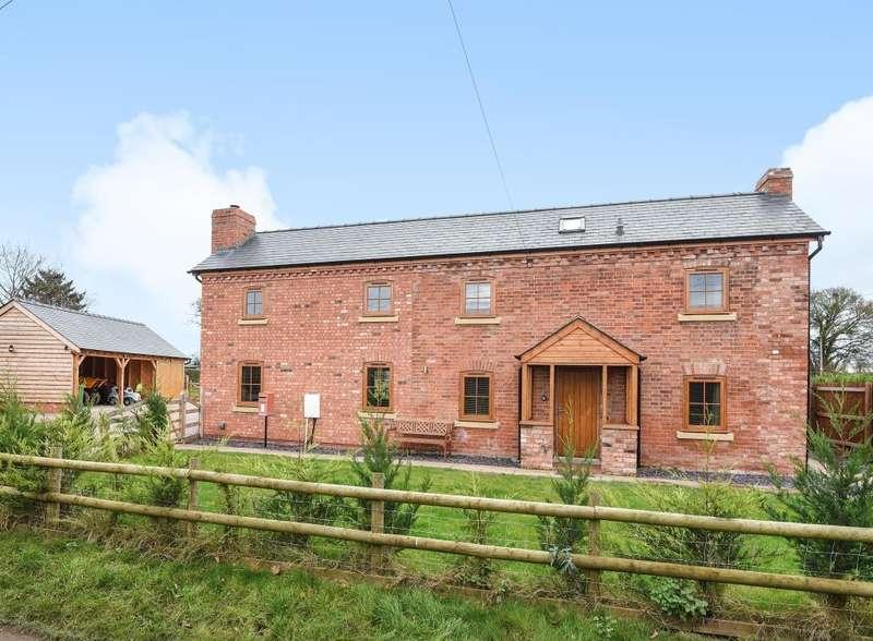 4 Bedrooms Detached House for sale in Allensmore, Hereford, HR2