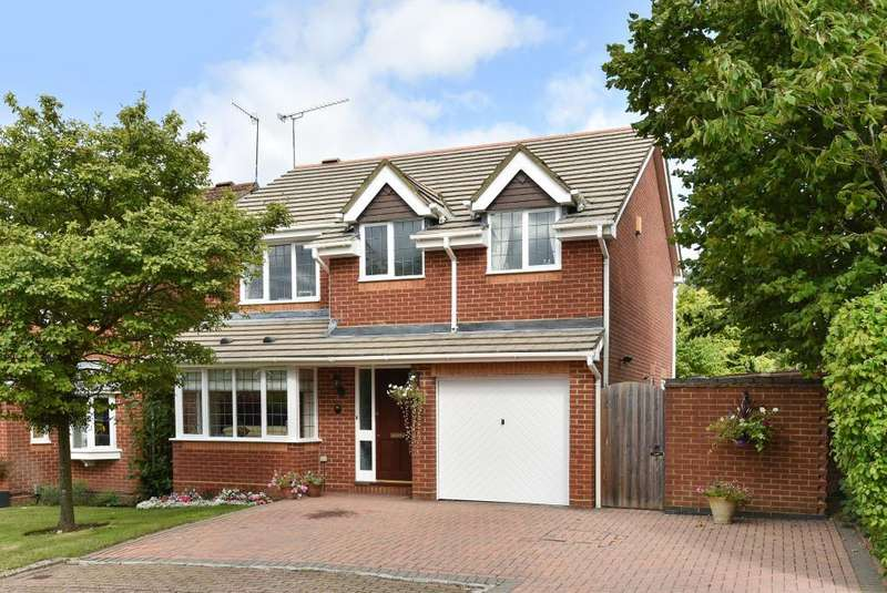 4 Bedrooms Detached House for sale in WEST END, SURREY, GU24