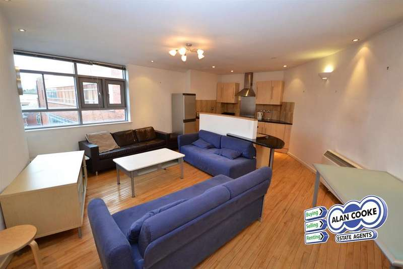 2 Bedrooms Flat for sale in Millwright House, Byron Street, Leeds 2