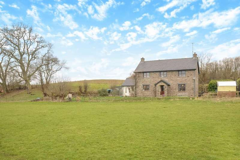 4 Bedrooms Detached House for sale in Aberyscir, Brecon LD3, LD3