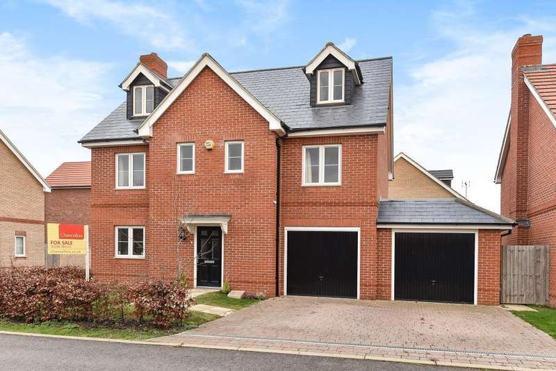 5 Bedrooms Detached House for sale in Morgan Drive, Berryfields, HP18