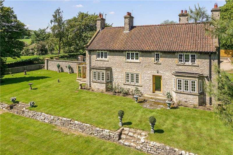 5 Bedrooms Detached House for sale in Howkeld House, Starfitts Lane, Kirkbymoorside, North Yorkshire, YO62