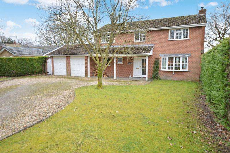 4 Bedrooms Detached House for sale in Rushmere, 39 Woodland Drive, Woodhall Spa