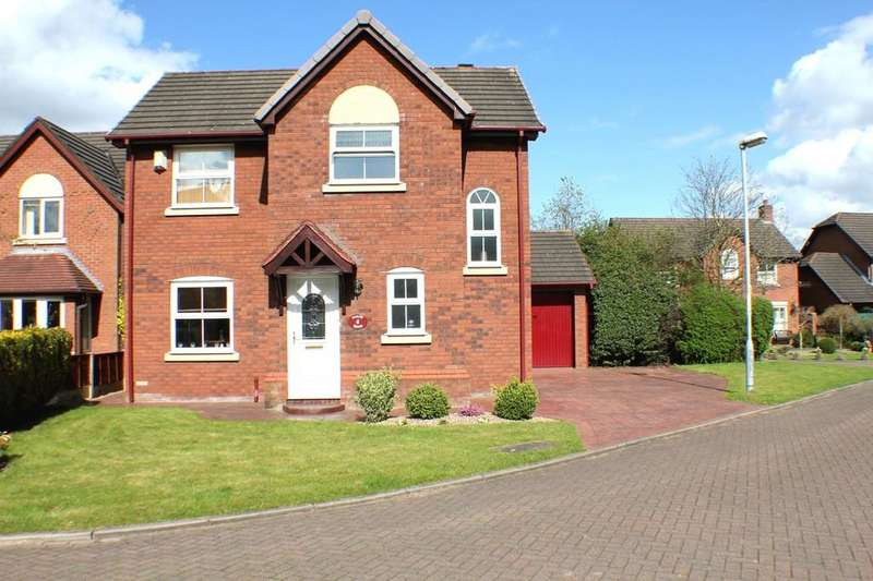 3 Bedrooms Detached House for sale in Barleywood Close, Wistaston