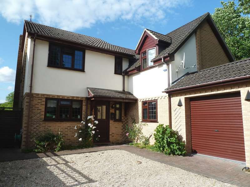 4 Bedrooms Detached House for rent in Brunel Close, Micheldever Station, Near Winchester, Hampshire, SO21