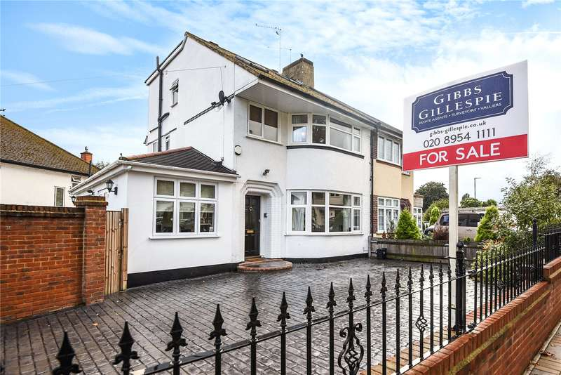 4 Bedrooms Semi Detached House for sale in Mountbel Road, Stanmore, Middlesex, HA7