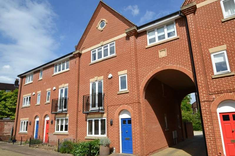 4 Bedrooms Town House for sale in Devereaux Court, Ipswich, IP4 2BF