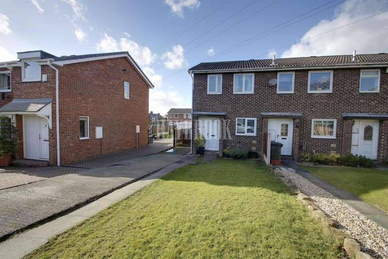 2 Bedrooms End Of Terrace House for sale in Pike Lowe Grove, Mapplewell