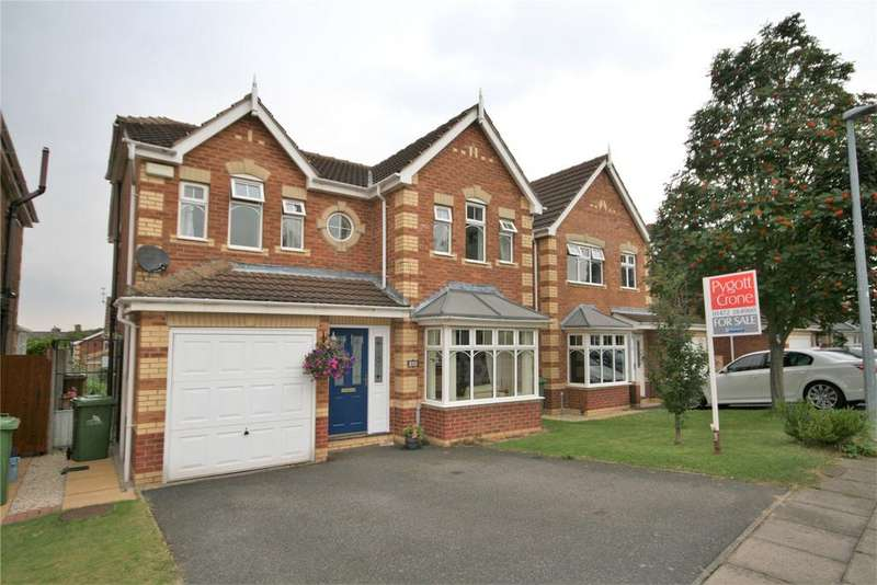 4 Bedrooms Detached House for sale in Asgard Way, Scartho Top, DN33